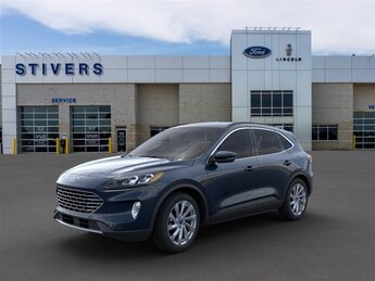 2021 Ford Escape Titanium Automatic EcoBoost 2.0L I4 GTDi DOHC Turbocharged VCT Engine SUV AWD 4 Door