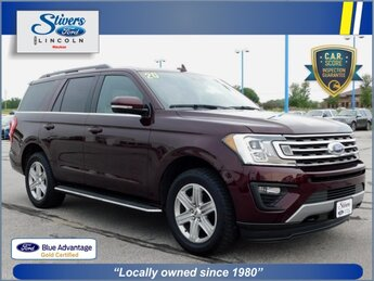 2020 Burgundy Velvet Metallic Tinted Clearcoat Ford Expedition XLT EcoBoost 3.5L V6 GTDi DOHC 24V Twin Turbocharged Engine Automatic SUV