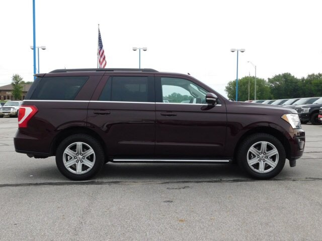 2020 Burgundy Velvet Metallic Tinted Clearcoat Ford Expedition XLT Automatic SUV EcoBoost 3.5L V6 GTDi DOHC 24V Twin Turbocharged Engine