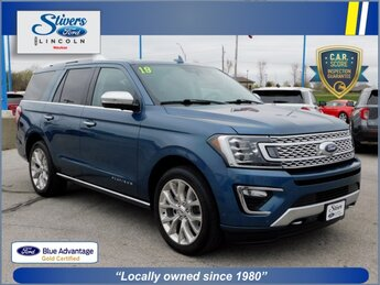 2019 Ford Expedition Platinum EcoBoost 3.5L V6 GTDi DOHC 24V Twin Turbocharged Engine Automatic 4X4 SUV 4 Door