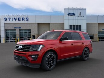 2020 Rapid Red Metallic Tinted Clearcoat Ford Expedition Limited EcoBoost 3.5L V6 GTDi DOHC 24V Twin Turbocharged Engine 4 Door 4X4