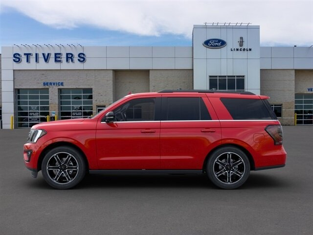 2020 Rapid Red Metallic Tinted Clearcoat Ford Expedition Limited Automatic SUV EcoBoost 3.5L V6 GTDi DOHC 24V Twin Turbocharged Engine 4X4