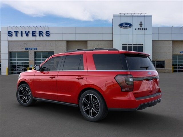 2020 Rapid Red Metallic Tinted Clearcoat Ford Expedition Limited 4 Door 4X4 Automatic