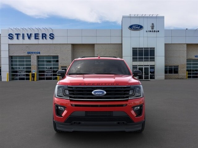 2020 Rapid Red Metallic Tinted Clearcoat Ford Expedition Limited SUV Automatic 4X4 4 Door EcoBoost 3.5L V6 GTDi DOHC 24V Twin Turbocharged Engine