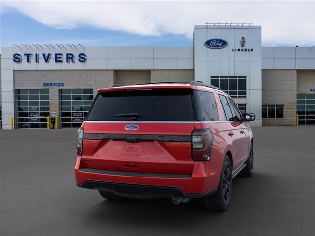 2020 Rapid Red Metallic Tinted Clearcoat Ford Expedition Limited Automatic SUV EcoBoost 3.5L V6 GTDi DOHC 24V Twin Turbocharged Engine 4X4 4 Door