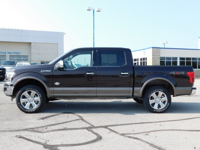 2020 Magma Red Metallic Ford F-150 King Ranch 4 Door Truck EcoBoost 3.5L V6 GTDi DOHC 24V Twin Turbocharged Engine