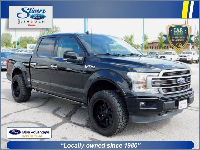 2020 Agate Black Metallic Ford F-150 Limited EcoBoost 3.5L V6 GTDi DOHC 24V Twin Turbocharged Engine 4 Door Truck Automatic