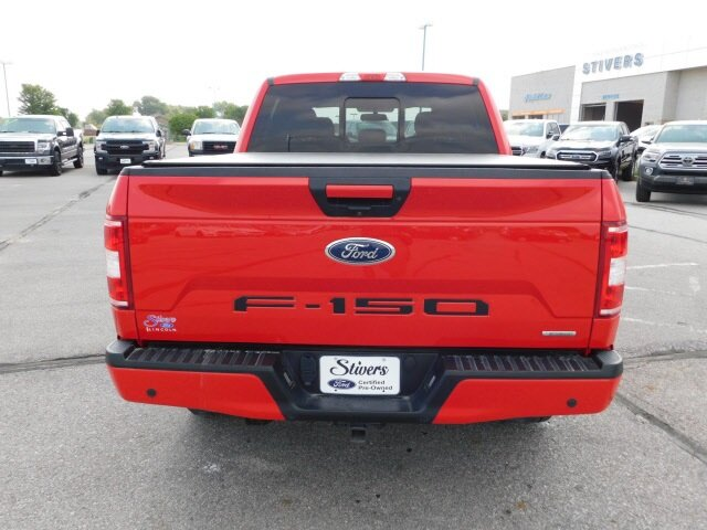 2018 Race Red Ford F-150 XLT Automatic EcoBoost 3.5L V6 GTDi DOHC 24V Twin Turbocharged Engine 4 Door