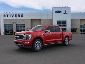 2021 Ford F-150 Platinum EcoBoost 3.5L V6 GTDi DOHC 24V Twin Turbocharged Engine Automatic 4 Door