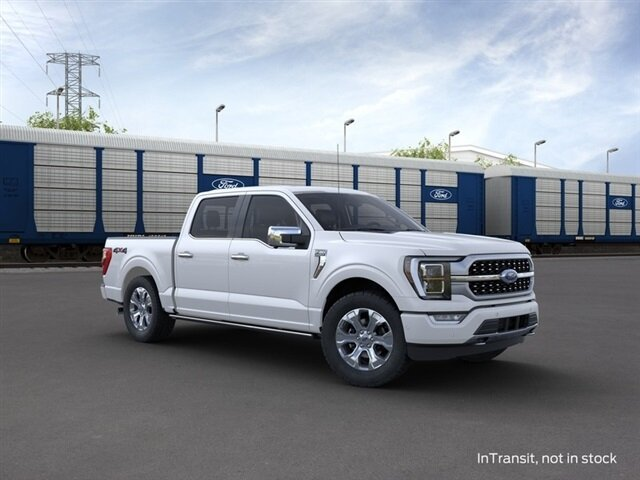 2021 Ford F-150 Platinum Truck 3.5L PowerBoost Full-Hybrid V6 Engine 4 Door 4X4