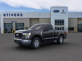 2021 Agate Black Metallic Ford F-150 XLT 4X4 2 Door Automatic 3.3L V6 PFDI Engine