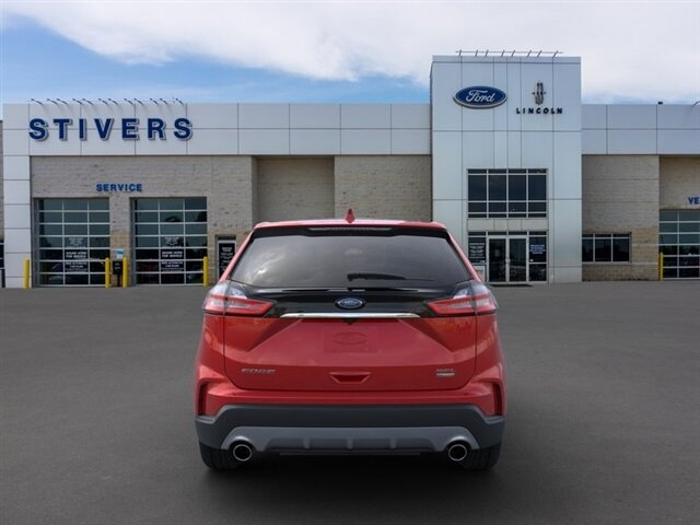 2020 Rapid Red Metallic Tinted Clearcoat Ford Edge SEL SUV FWD 4 Door EcoBoost 2.0L I4 GTDi DOHC Turbocharged VCT Engine