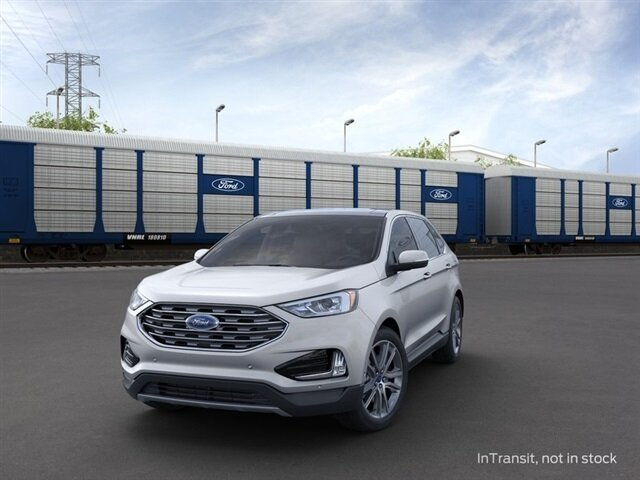 2021 Ford Edge Titanium SUV AWD EcoBoost 2.0L I4 GTDi DOHC Turbocharged VCT Engine 4 Door Automatic