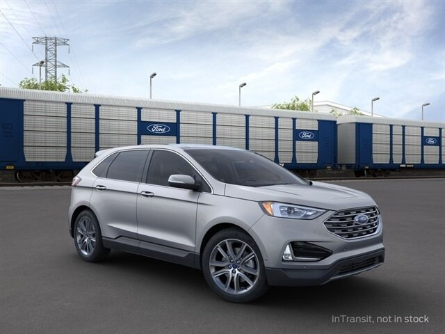 2021 Ford Edge Titanium EcoBoost 2.0L I4 GTDi DOHC Turbocharged VCT Engine 4 Door SUV AWD Automatic