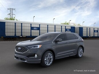 2021 Ford Edge Titanium AWD EcoBoost 2.0L I4 GTDi DOHC Turbocharged VCT Engine SUV 4 Door