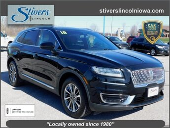 2019 Infinite Black Metallic Lincoln Nautilus Select 2.0L Turbocharged Engine 4 Door AWD SUV