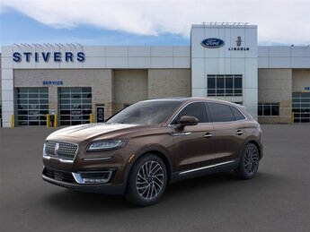 2020 Ochre Brown Lincoln Nautilus Reserve AWD Automatic SUV 2.7L V6 Twin Turbocharged Engine 4 Door