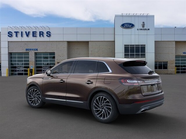 2020 Ochre Brown Lincoln Nautilus Reserve Automatic 4 Door AWD