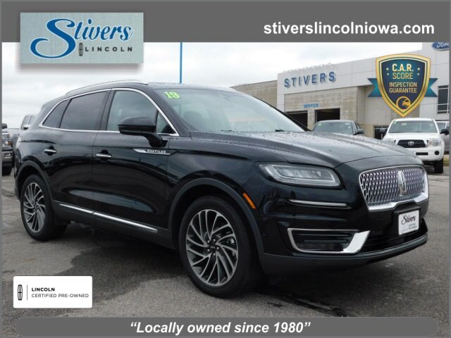 2019 Infinite Black Metallic Lincoln Nautilus Reserve SUV 4 Door 2.7L V6 Engine