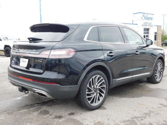 2019 Infinite Black Metallic Lincoln Nautilus Reserve AWD 4 Door SUV 2.7L V6 Engine