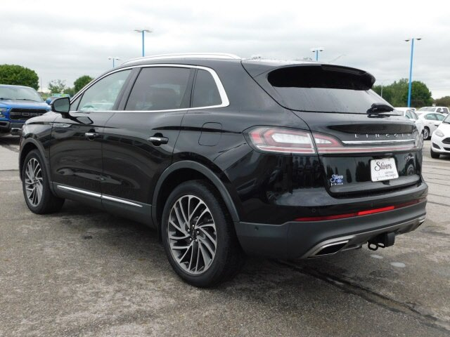 2019 Infinite Black Metallic Lincoln Nautilus Reserve Automatic SUV 2.7L V6 Engine 4 Door
