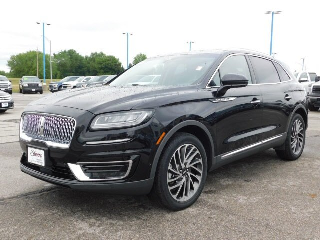 2019 Infinite Black Metallic Lincoln Nautilus Reserve AWD SUV 2.7L V6 Engine 4 Door