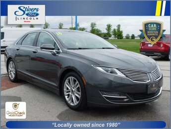 2016 Gray Lincoln MKZ Base FWD 3.7L V6 Ti-VCT 24V Engine Automatic 4 Door