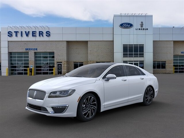 2020 White Platinum Metallic Tri-Coat Lincoln MKZ Reserve FWD Car 2.0L I4 Engine 4 Door Automatic