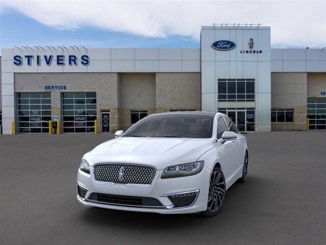 2020 White Platinum Metallic Tri-Coat Lincoln MKZ Reserve FWD 2.0L I4 Engine Car