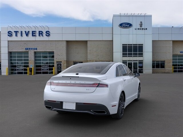 2020 White Platinum Metallic Tri-Coat Lincoln MKZ Reserve 4 Door Automatic FWD Car 2.0L I4 Engine