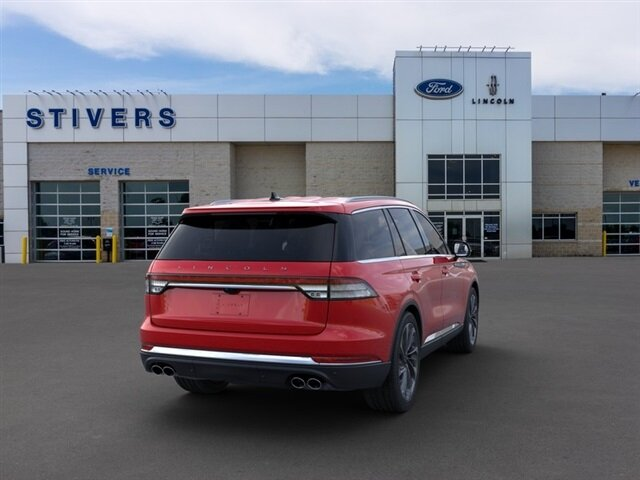 2021 Red Carpet Lincoln Aviator Reserve 3.0L V6 Engine SUV AWD Automatic 4 Door