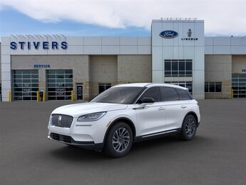 2021 Pristine White Lincoln Corsair Standard SUV 2.0L I4 Engine Automatic