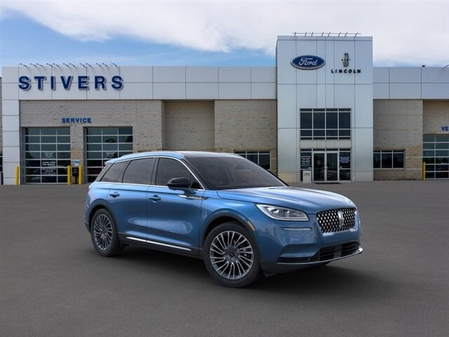 2021 Artisan Blue Lincoln Corsair Reserve 2.3L I4 Engine AWD SUV