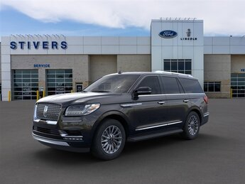 2020 Infinite Black Lincoln Navigator Standard SUV V6 Engine Automatic 4 Door 4X4
