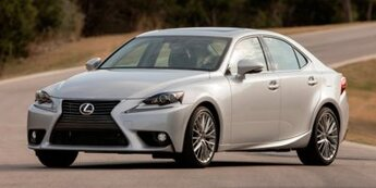 2015 Lexus IS 250 2.5L V6 DOHC 24V VVT-i Engine Automatic Sedan AWD