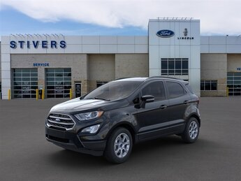 2021 Shadow Black Ford EcoSport SE 4X4 Automatic 4 Door 2.0L I4 Ti-VCT GDI Engine