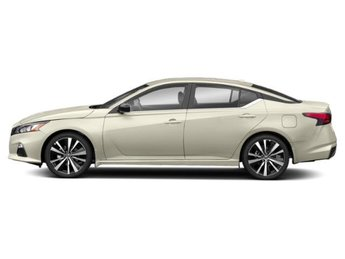 2019 Pearl White Tricoat Nissan Altima 2.5 SR Automatic (CVT) Sedan Regular Unleaded I-4 2.5 L/152 Engine 4 Door AWD