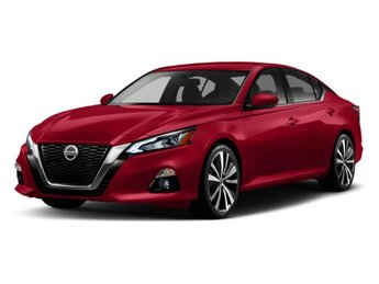 2019 Super Black Nissan Altima 2.5 SV Regular Unleaded I-4 2.5 L/152 Engine Sedan 4 Door FWD