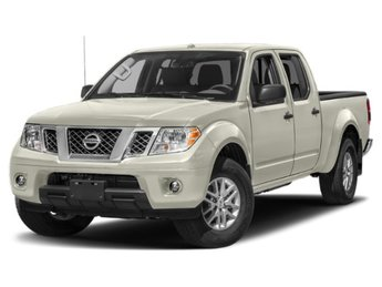 2019 Glacier White Nissan Frontier SV Regular Unleaded V-6 4.0 L/241 Engine Truck 4X4 4 Door Automatic