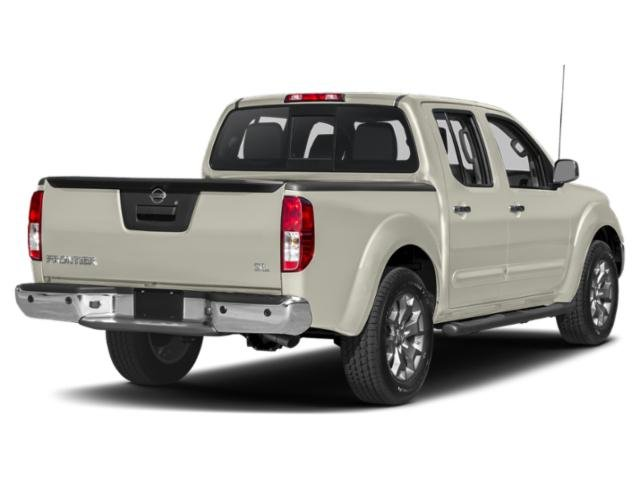 2019 Glacier White Nissan Frontier SV Truck 4X4 Regular Unleaded V-6 4.0 L/241 Engine Automatic