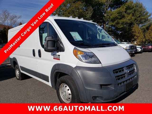 2017 Ram ProMaster Cargo Van Low Roof Van 3 Door Automatic