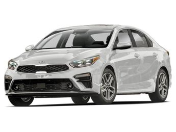 2019 Clear White Kia Forte FE Sedan 4 Door Automatic (CVT)