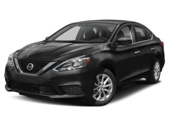 2019 Super Black Nissan Sentra S Regular Unleaded I-4 1.8 L/110 Engine FWD Automatic (CVT)