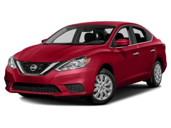 2019 Scarlet Ember Metallic Nissan Sentra SV Automatic (CVT) FWD Regular Unleaded I-4 1.8 L/110 Engine