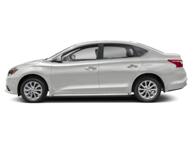 2019 Aspen White Tricoat Nissan Sentra SV 4 Door FWD Automatic (CVT) Sedan Regular Unleaded I-4 1.8 L/110 Engine