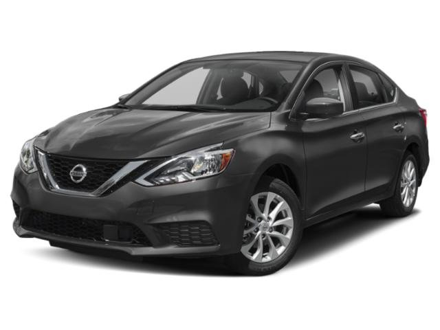 2019 Gun Metallic Nissan Sentra SV Automatic (CVT) Regular Unleaded I-4 1.8 L/110 Engine Sedan 4 Door FWD