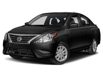 2019 Nissan Versa Sedan S Plus Regular Unleaded I-4 1.6 L/98 Engine 4 Door Automatic (CVT) Sedan