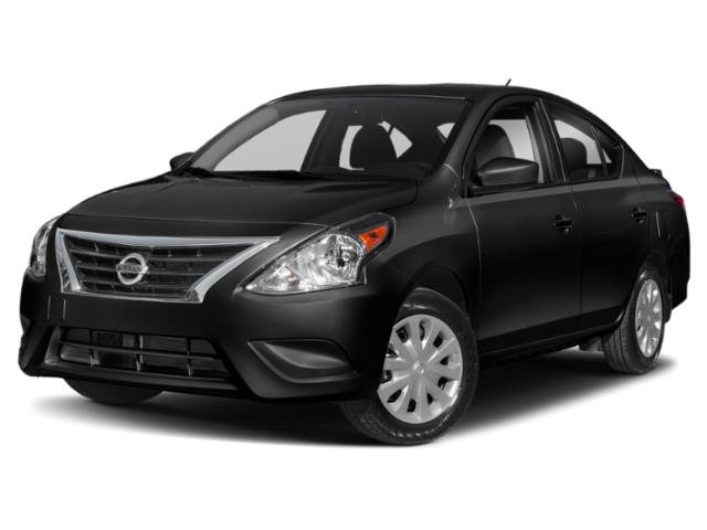2019 Super Black Nissan Versa Sedan S Plus 4 Door FWD Automatic (CVT)