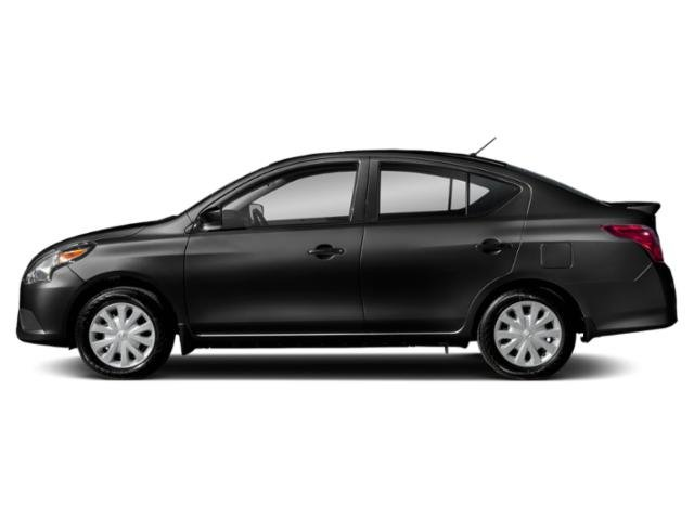 2019 Super Black Nissan Versa Sedan S Plus Sedan Automatic (CVT) Regular Unleaded I-4 1.6 L/98 Engine
