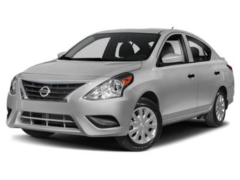 2019 Brilliant Silver Metallic Nissan Versa Sedan S Plus Automatic (CVT) Regular Unleaded I-4 1.6 L/98 Engine FWD 4 Door Sedan
